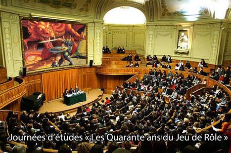Journées d'études « Les Quarante ans du Jeu de Rôle » | Jeux de Rôle | Scoop.it