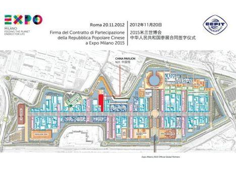 La Cina firma per il secondo più grande padiglione Expo, nel 2015 un milione di visitatori cinesi a Milano | Alessandro Calogero | Scoop.it