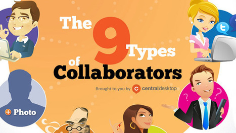 The Color of Collaboration: 9 Types of Collaborators [Infographic] - What Type Are You | Hitchhiker | Scoop.it