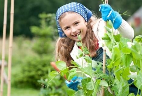 Gardening As Exercise For Children | School Gardening Resources | Scoop.it