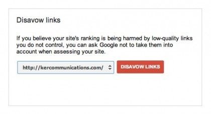 Google Disavow Links Tool Now Available to Sites Hit By Penguin | Real SEO | Scoop.it