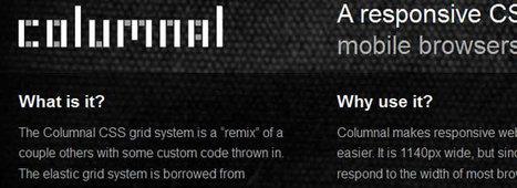 CSS Frameworks for Responsive Web Design | Pixel2Pixel Design | Responsive WebDesign Ressources | Scoop.it