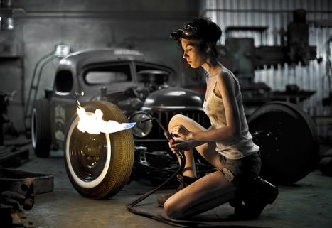 BABY YOU BURN   Vintage Motorbikes   Scoop.it