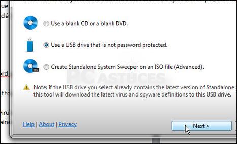 Créer une clé USB de désinfection | Time to Learn | Scoop.it