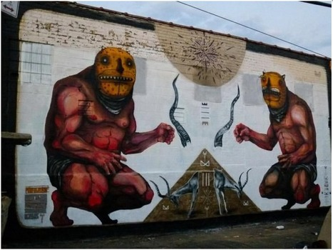 Picture of Big Walls by Jaz, Freddy Sam - New York City (NY) | Contemporary Art & Culture | Scoop.it