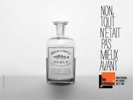 La campagne d'affichage du Mouv' récompensée | Radioscope | Scoop.it