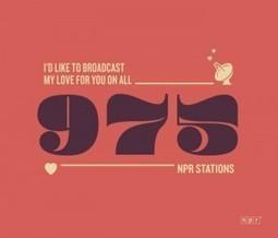 Should NPR Start an Online Dating Site?  | KQED News Fix | Veille - développement radio | Scoop.it