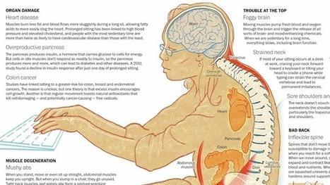 This Graphic Explains All the Health Hazards of Sitting for Too Long | Nature & Health | Scoop.it
