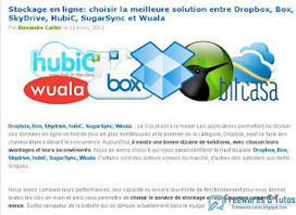 Le site du jour : Comment choisir la meilleure solution de stockage en ligne ?   François MAGNAN  Formateur Consultant   Scoop.it