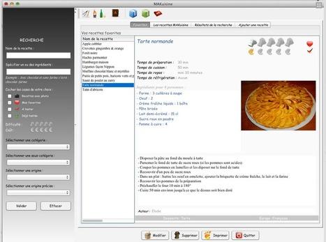 logiciel gratuit MAKuisine Fr 2013 Licence gratuite Bibliothèque de 2000 recettes de cuisine - Version 1.2.0 PC et Mac | Innovation et lecture publique | Scoop.it