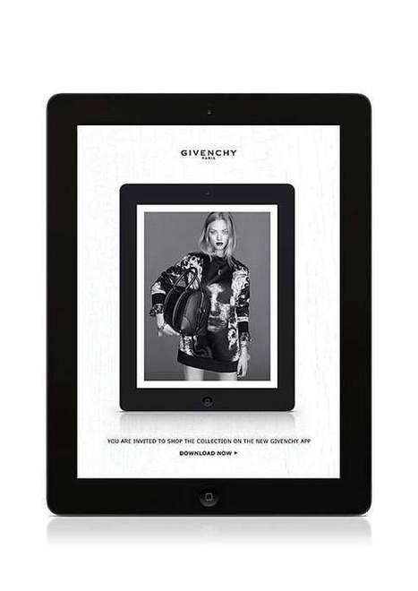 Givenchy en mode m-commerce | E-marketing Topics | Scoop.it
