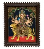 Durga Mata Paintings   Indian Painting online   Scoop.it