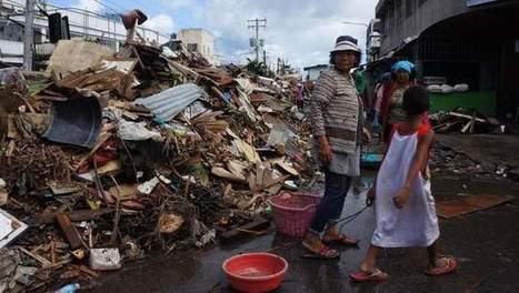 Nog altijd getroffen plaatsen zonder hulp  op Filipijnen | Actualiteit | Scoop.it