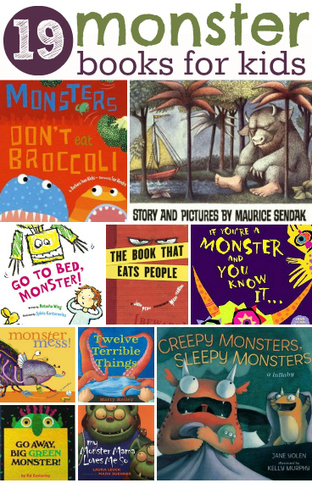19 Monster Books For Kids | English teaching. Online resources | Scoop.it