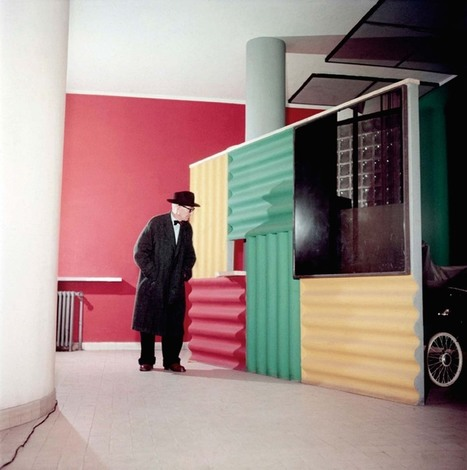 Le Corbusier by Willy Rizzo | Le Journal de la Photographie | Camera Arts | Scoop.it