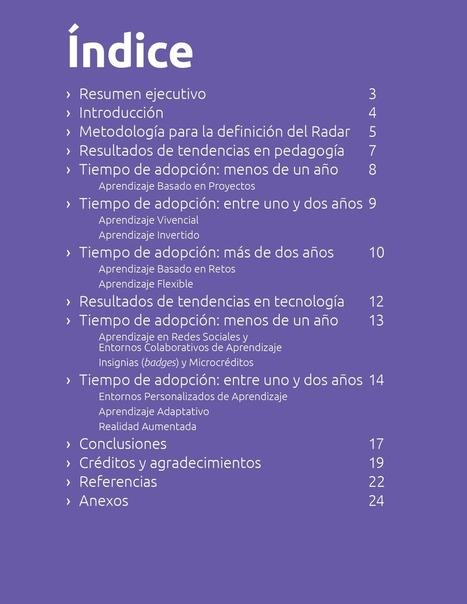Edu Trends Radar Preparatoria 2016 | Tecnologías educativas, uso de TIC en educación, modelos pedagógicos | Scoop.it