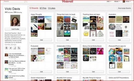 Cool Cat Teacher Blog: Simple Pinterest for Beginners | 21st Century Information Fluency | Scoop.it