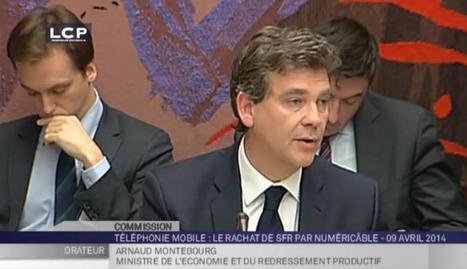 Audition d'Arnaud Montebourg sur l'avenir de SFR. | Droit et régulation | Scoop.it