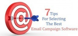 7 Tips For Selecting The Best Email Campaign Software | Garuda - The Intelligent Mailer | Email Marketing | Scoop.it
