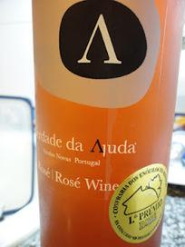 Adega dos Leigos: HERDADE DA AJUDA ROSÉ 2010 | Wine Lovers | Scoop.it