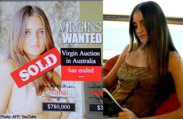 Catarina Migliorini Virgin Auction: Hymen for $780K | Soup for thought | Scoop.it