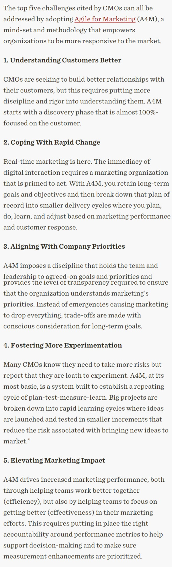 How Agile for Marketing Can Work for You - CMO.com | The Marketing Technology Alert | Scoop.it