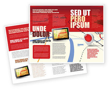 Road Map Brochure Template | Brochure Templates | Scoop.it
