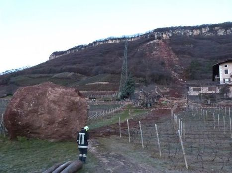 Tramin (Termeno), Italy: a very dramatic rockfall - The Landslide Blog - AGU Blogosphere | Australia,Europe,Africa | Scoop.it