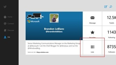 Twitter for Windows 8 gets updated | Surviving IPF in the year 2013 | Scoop.it
