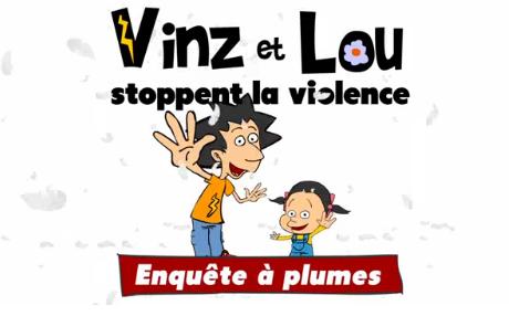 « Vinz et Lou stoppent la violence » (pour les élèves de 7 à 12 ans) | FLE enfants | Scoop.it