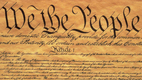 Constitutional Amendment: Money Is Not Speech | Government and Law news articles | Scoop.it