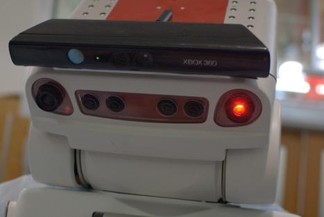 Microsoft's Kinect: A robot's low-cost, secret weapon | Robotics Frontiers | Scoop.it