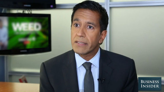 WHAT A JOKE!! Sanjay Gupta explains the best way to get high on marijuana [dont bogart that doobie sanj