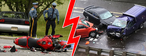Motorcycle Accidents vs. Car Accidents | OHS quest | Scoop.it