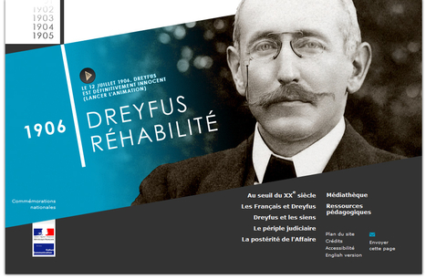 Étudier l'Affaire Dreyfus à travers les archives - Éduscol HG | Tice veille | Scoop.it