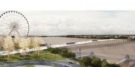 Bordeaux : le futur pont Jean-Jacques Bosc se dévoile | Les grands projets de Bordeaux Métropole | Scoop.it