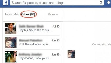 Check for Hidden Facebook Messages | Stuff that Tweaks | Scoop.it
