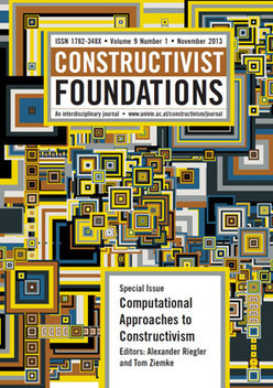 Computation, Cognition and Constructivism: Introduction to the Special Issue | operationalizing complexity | Scoop.it
