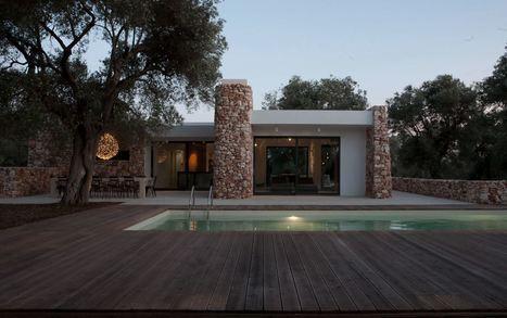 39 maison pierre 39 in construire tendance - Maison loliveraie casa nel bosco di ulivi ...