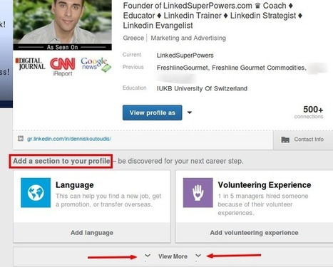 Are You Utilising The Projects Section Of Your LinkedIn Profile? | Linkedin for Business Marketing | Scoop.it