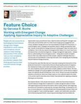 Working with Emergent Change: Applying Appreciative Inquiry to Adaptive Challenges | Art of Hosting | Scoop.it