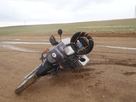 Sale journée pour José ! - les tribulations d'Altaï et Khan | Les sites favoris de balade à moto | Scoop.it