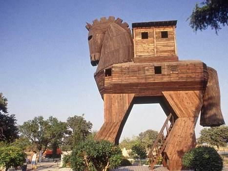 ¿Cuánta gente iba dentro del caballo de Troya? | Mitología clásica | Scoop.it