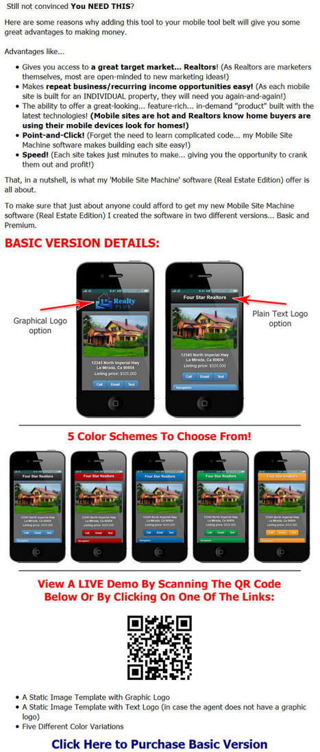Get Single Property Websites with our mobile website builder | Mobile Site Builder | Scoop.it