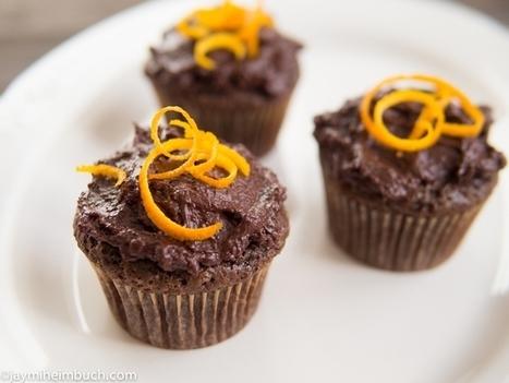 Orange-Ginger Chocolate Cupcakes | My Vegan recipes | Scoop.it