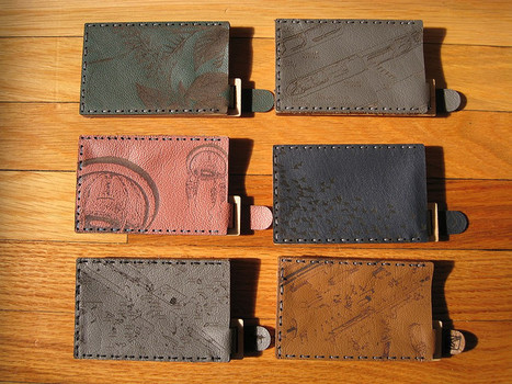 Etched Leather & Wood Card Cases | Fashion Technology Designers & Startups | Scoop.it