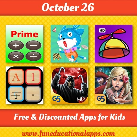 Daily Best Free and Discounted Apps for kids and Education - October 26 - Fun Educational Apps for Kids   Daily Free Kids Apps   Scoop.it