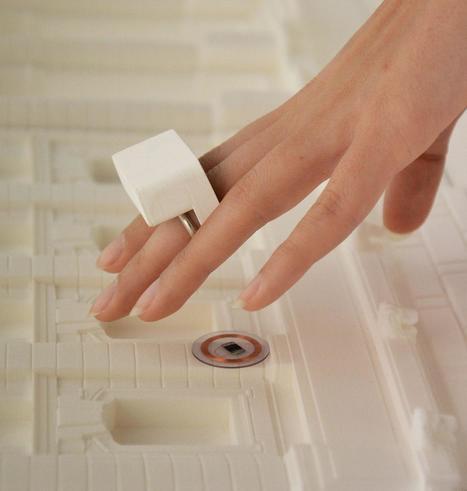All'Ara Pacis un anello che aiuta i non vedenti a «leggere» le opere d'arte   Design to Humanise   Scoop.it