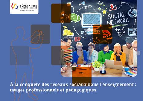 Guide réseaux sociaux pour des usages professionnels et pédagogiques | Time to Learn | Scoop.it