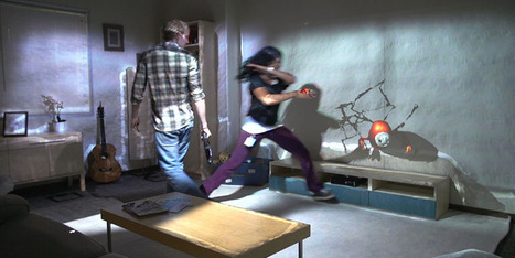 Turn your Room into an Amazing Game Zone via Microsoft's RoomAlive | KINECT APPS - GAMES | Scoop.it